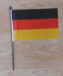 Germany Country Hand Flag - Medium.